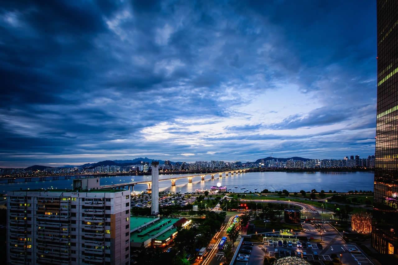 Seoul en Coree du sud
