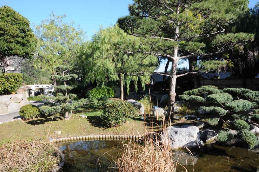 Monaco week end jardin japonnais Samedi apres midi